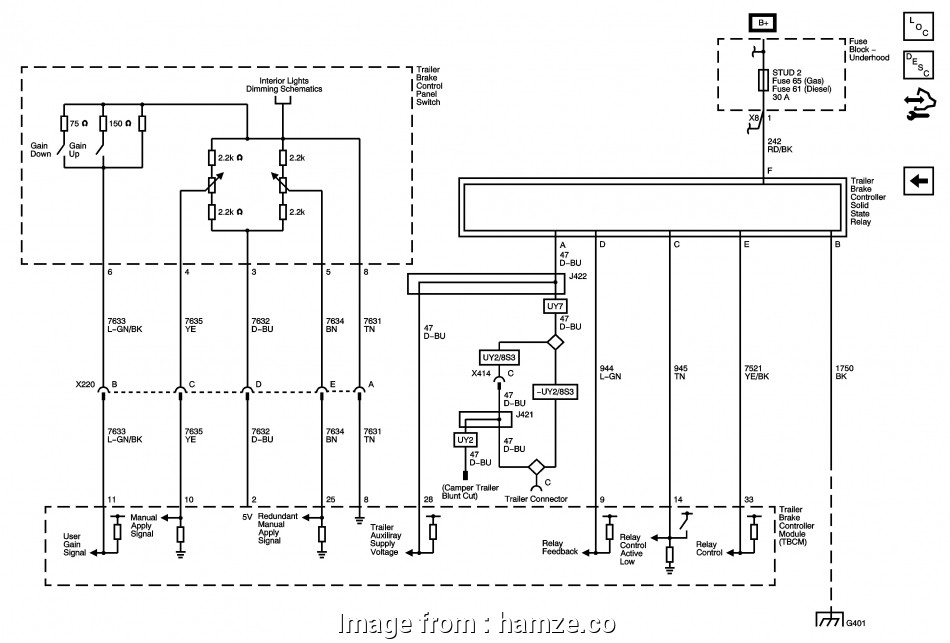 2012 Silverado Trailer Brake Wiring Diagram
