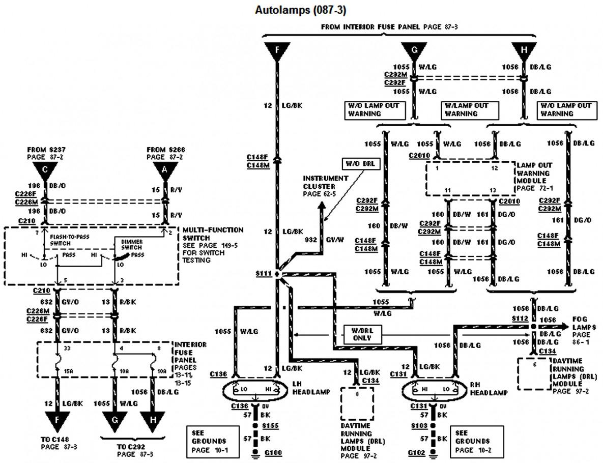 1997 Ford F250 Trailer Wiring Diagram