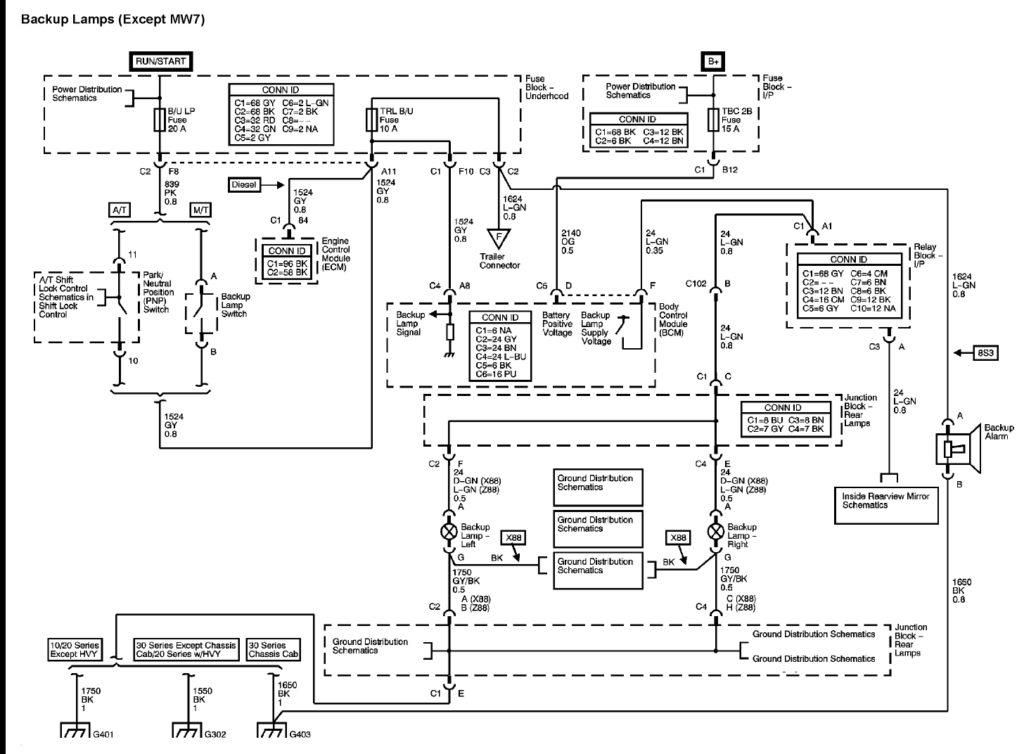 1999 Chevy Silverado Trailer Wiring Diagram Trailer