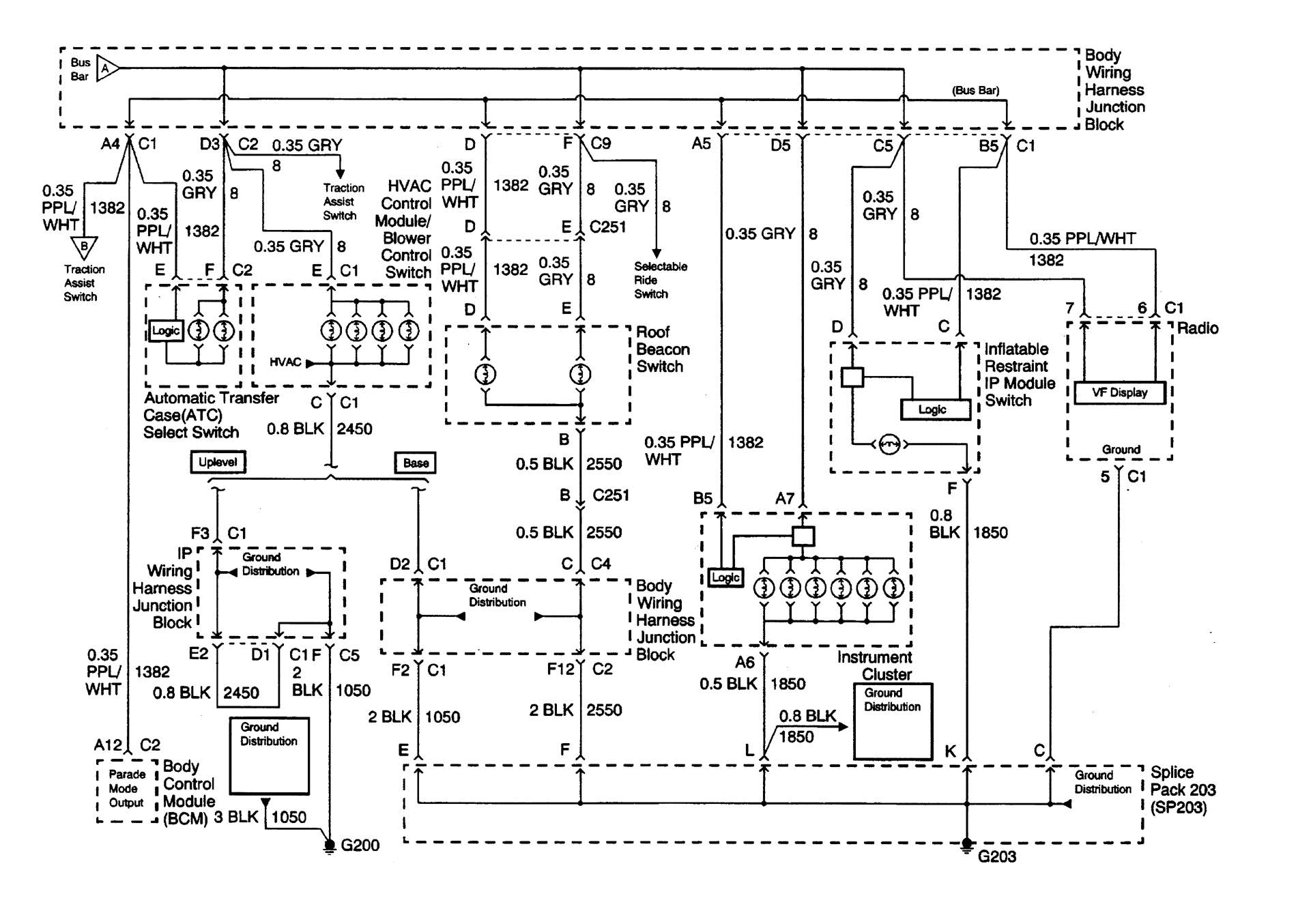 2000 Chevy Silverado Trailer Brake Controller Wiring Diagram