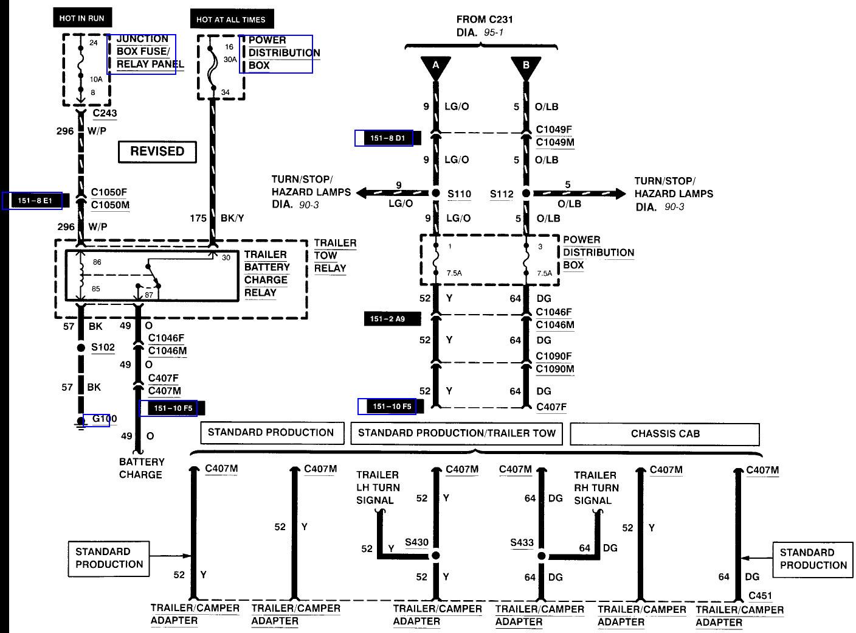 2001 F250 Trailer Wiring Diagram