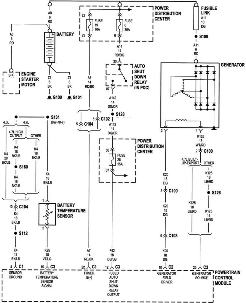 2002 Jeep Grand Cherokee Wiring Harness Diagram Yadlachim