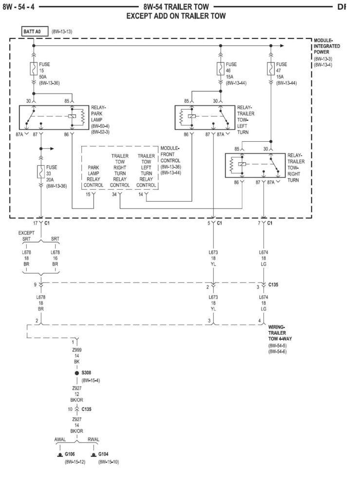 2003 Dodge 3500 Trailer Wiring Diagram Trailer Wiring