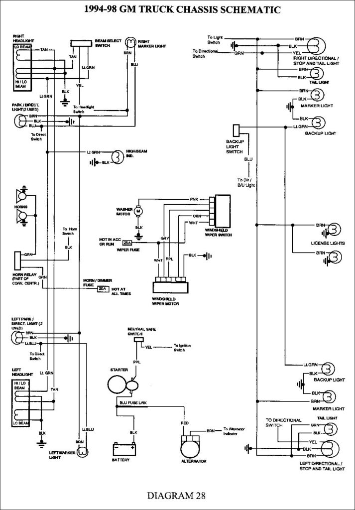 2004 Chevy Silverado Trailer Wiring Diagram Wiring Diagram