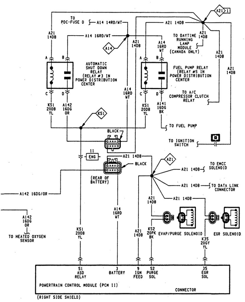 2004 Dodge Durango Trailer Wiring Diagram Trailer Wiring
