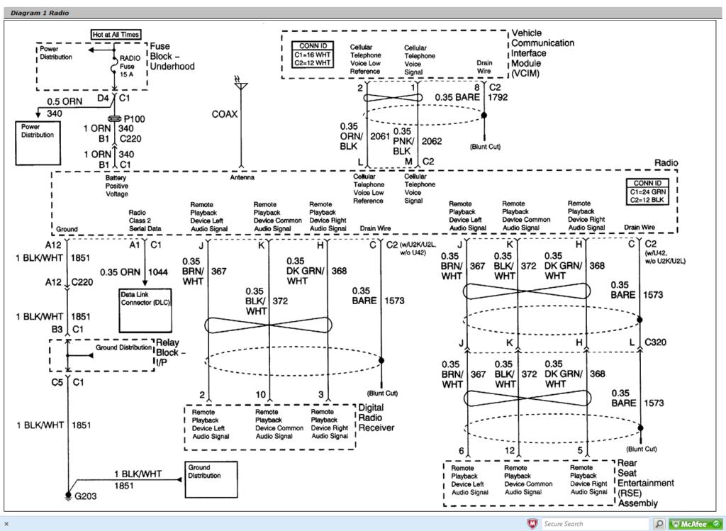 2004 Gmc Sierra 2500hd Delphi Radio Wiring Diagram