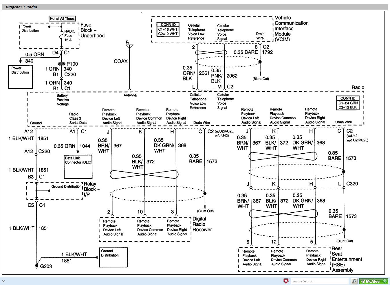 2004 Gmc Sierra 2500hd Trailer Wiring Diagram