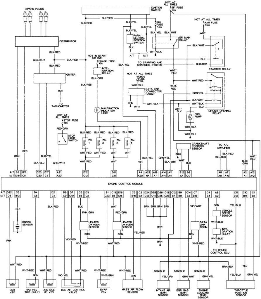 2006 Toyota Tacoma Trailer Wiring Diagram Trailer Wiring