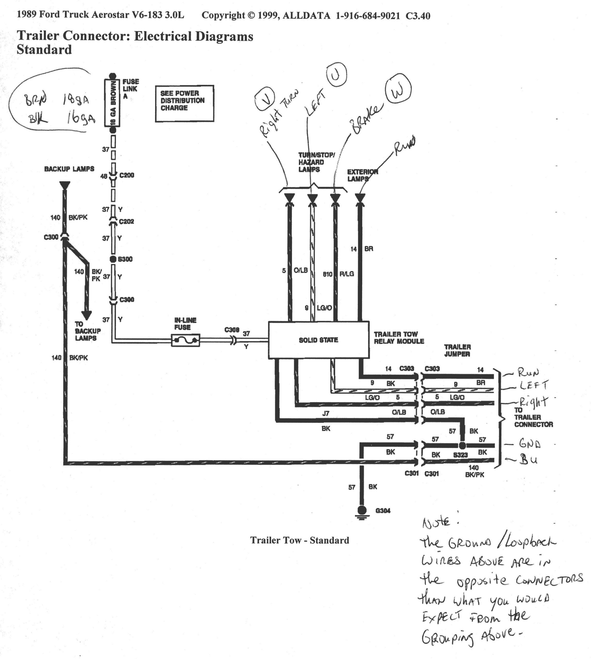 2012 Ford F350 Trailer Wiring Diagram