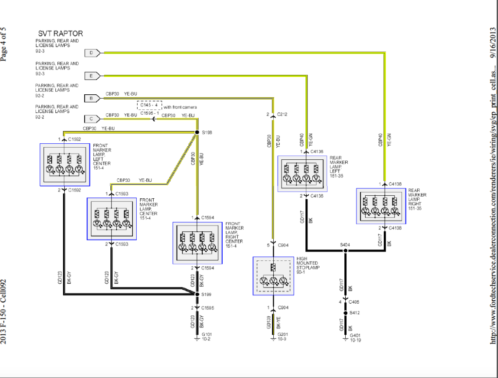 2017 Ford F 150 Trailer Wiring Diagram Trailer Wiring