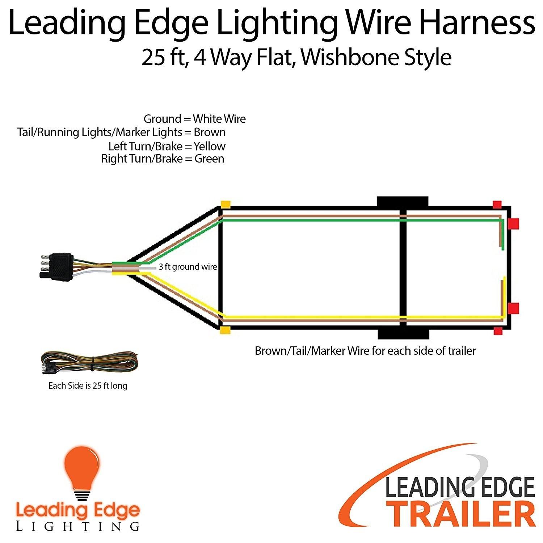 4 Pin Trailer Wiring Diagram With Brakes