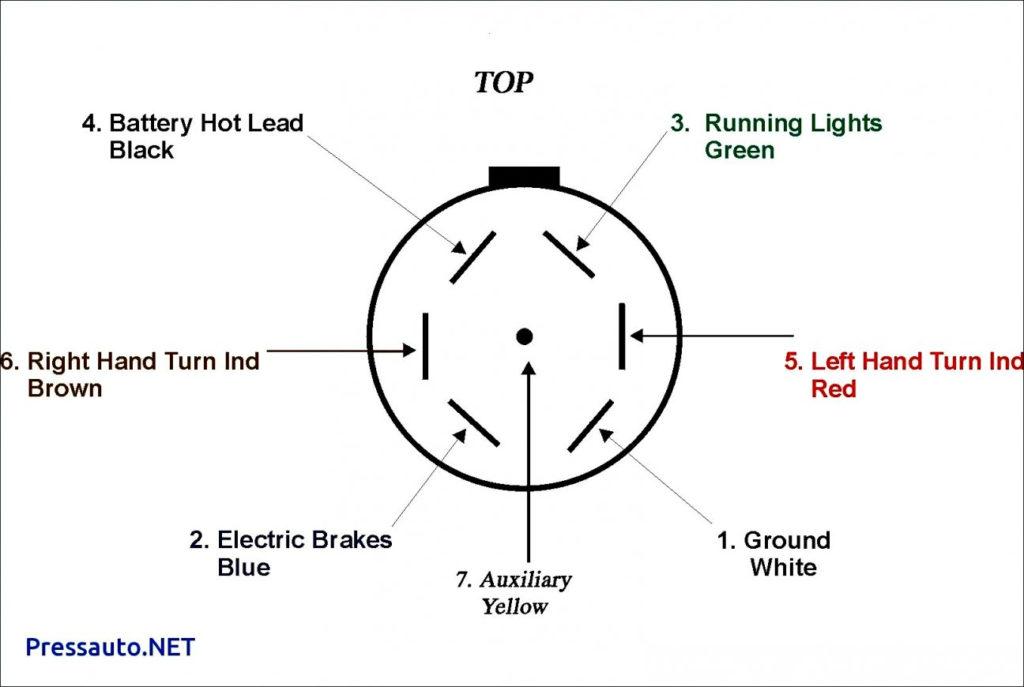 4 Way To 7 Way Trailer Wiring Diagram Trailer Wiring Diagram