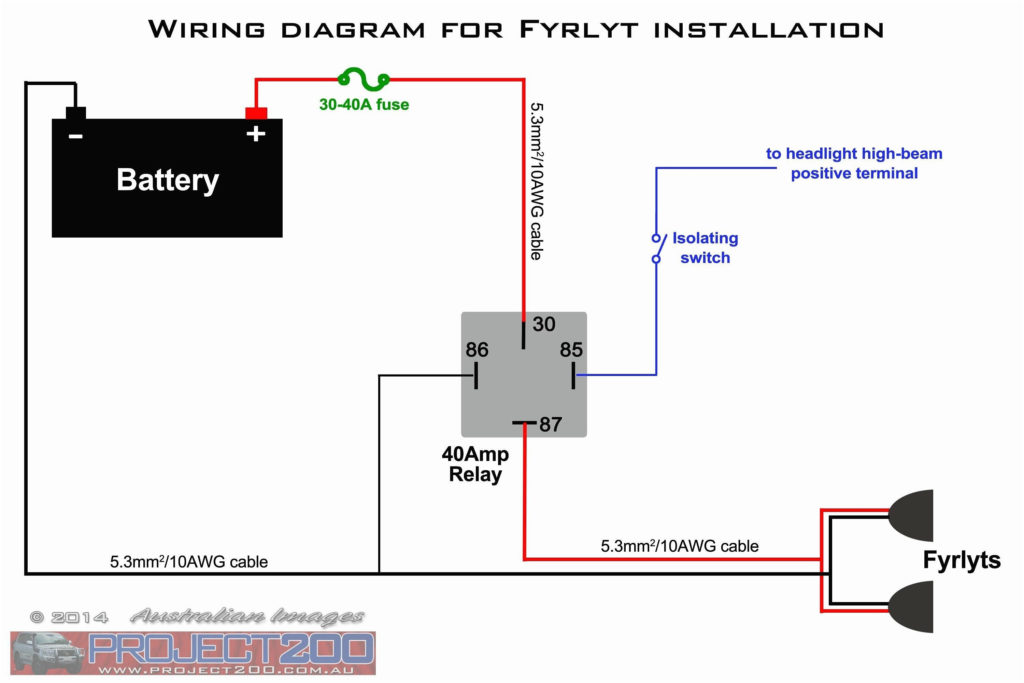 5 Pin Relay With Diode Wiring Diagram With Images
