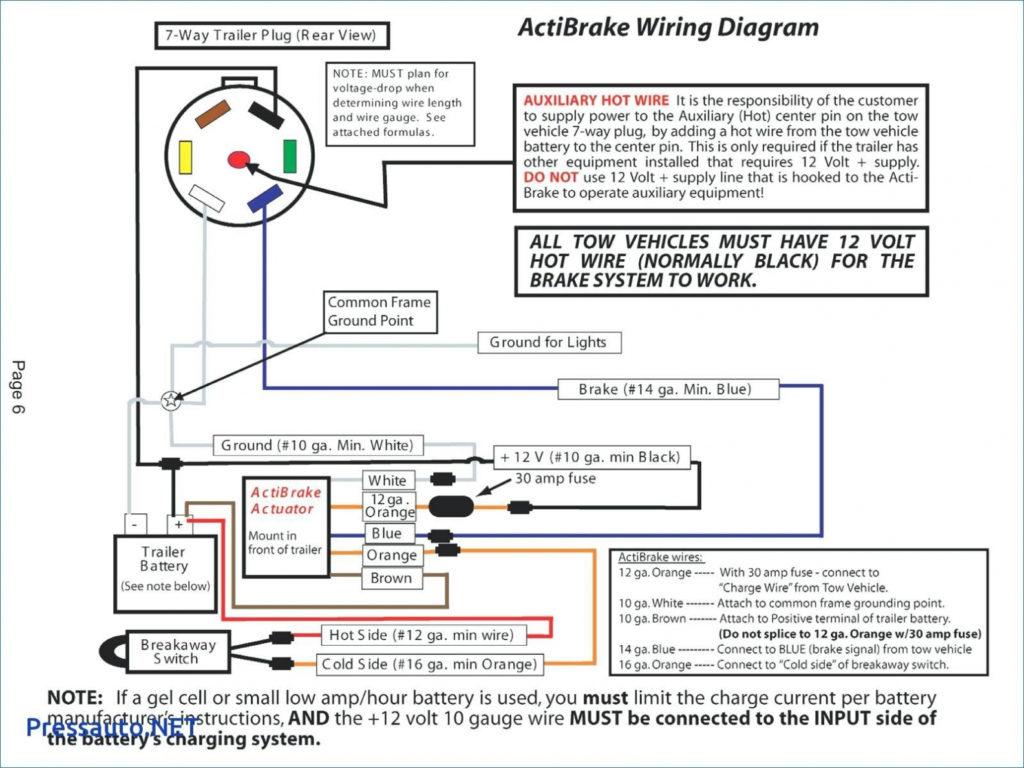 7 Pin Flat Trailer Plug Wiring Diagram Trailer Wiring