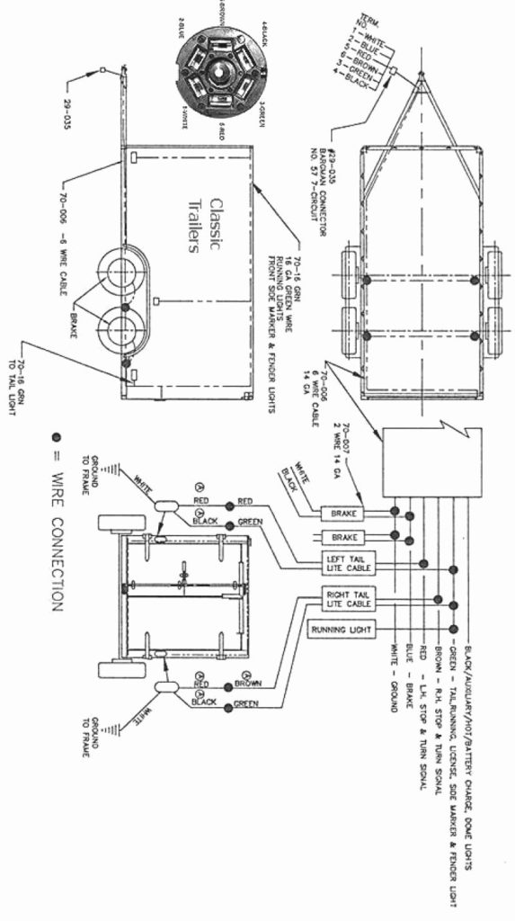 Big Tex Trailer Wiring Diagram Trailer Wiring Diagram