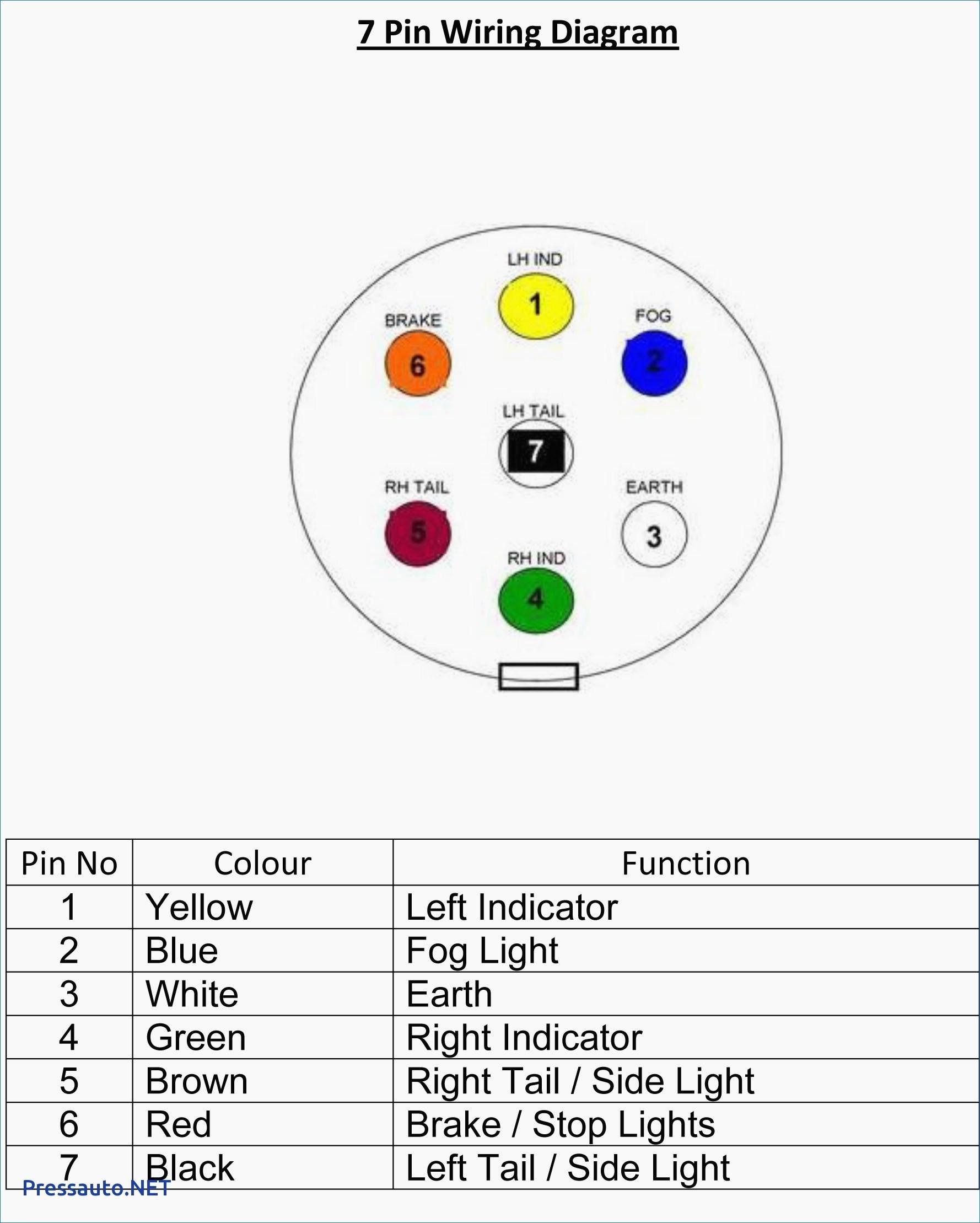 Curt 7 Pin Trailer Wiring Diagram
