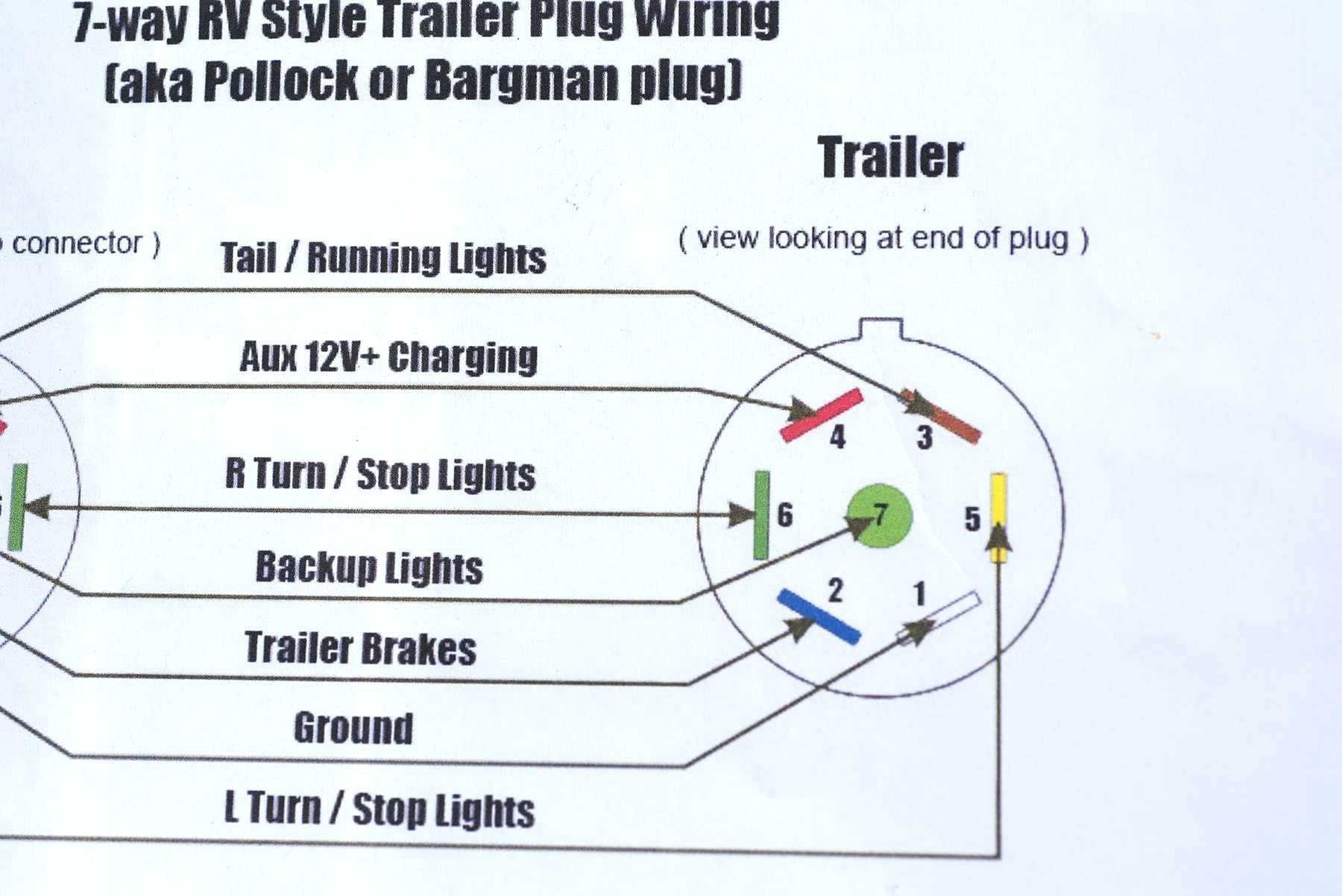 12 Pin Flat Trailer Plug Wiring Diagram