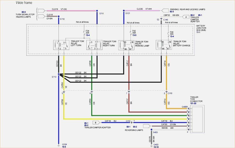 1993 Ford F250 Trailer Wiring Diagram