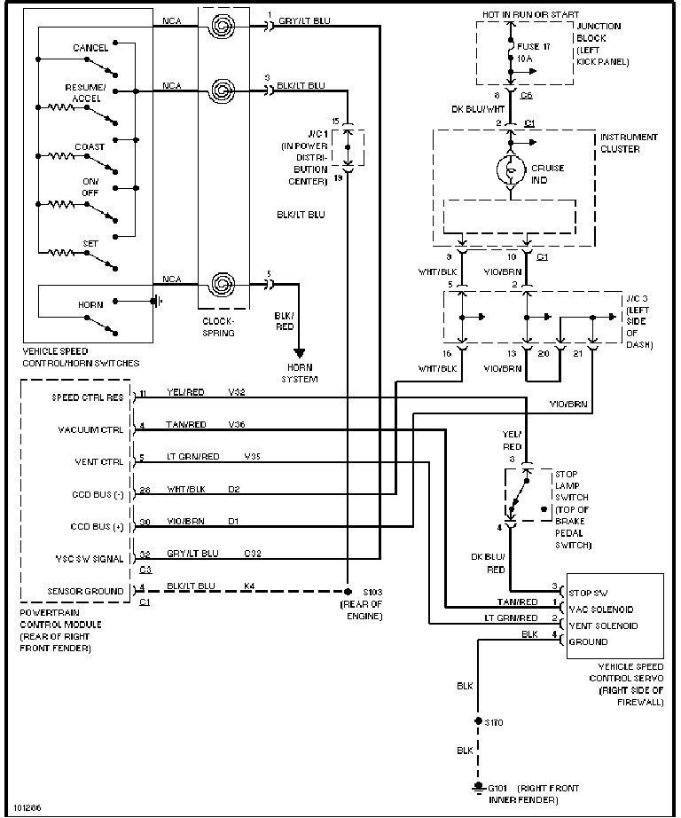 1998 Dodge Dakota Trailer Wiring Diagram