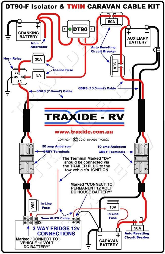 Kiefer Built Trailer Wiring Diagram Trailer Wiring Diagram