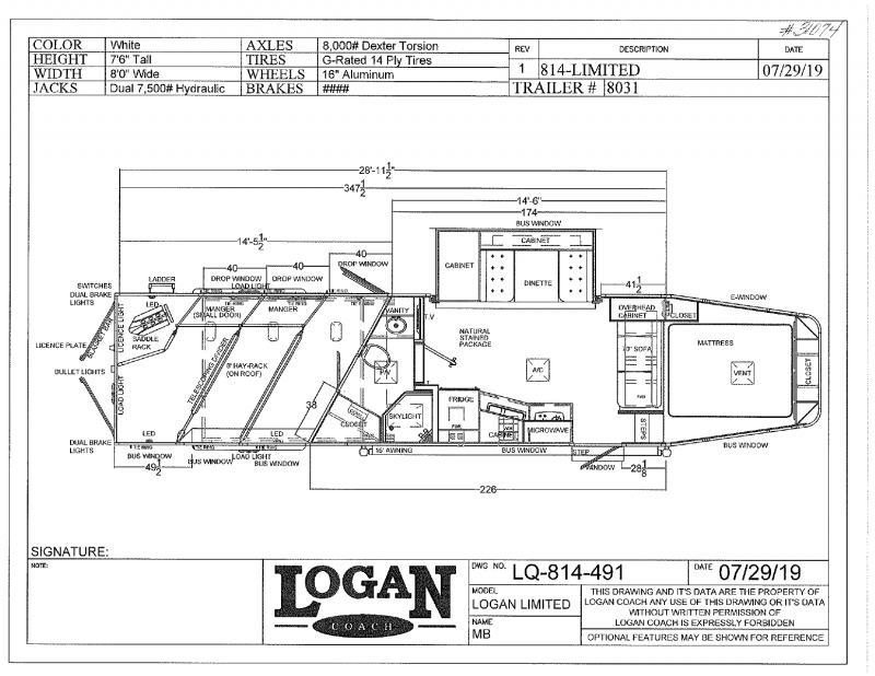Logan Horse Trailer Wiring Diagram