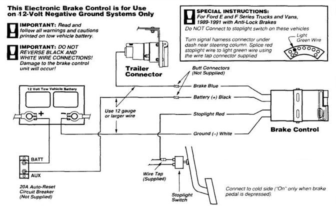 Redline Trailer Brake Controller Wiring Diagram