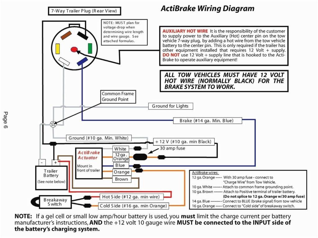 Reese Trailer Brake Controller Wiring Diagram Trailer