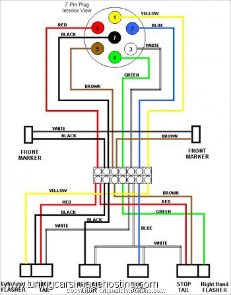 Seven Prong Trailer Wiring Diagram Trailer Wiring Diagram
