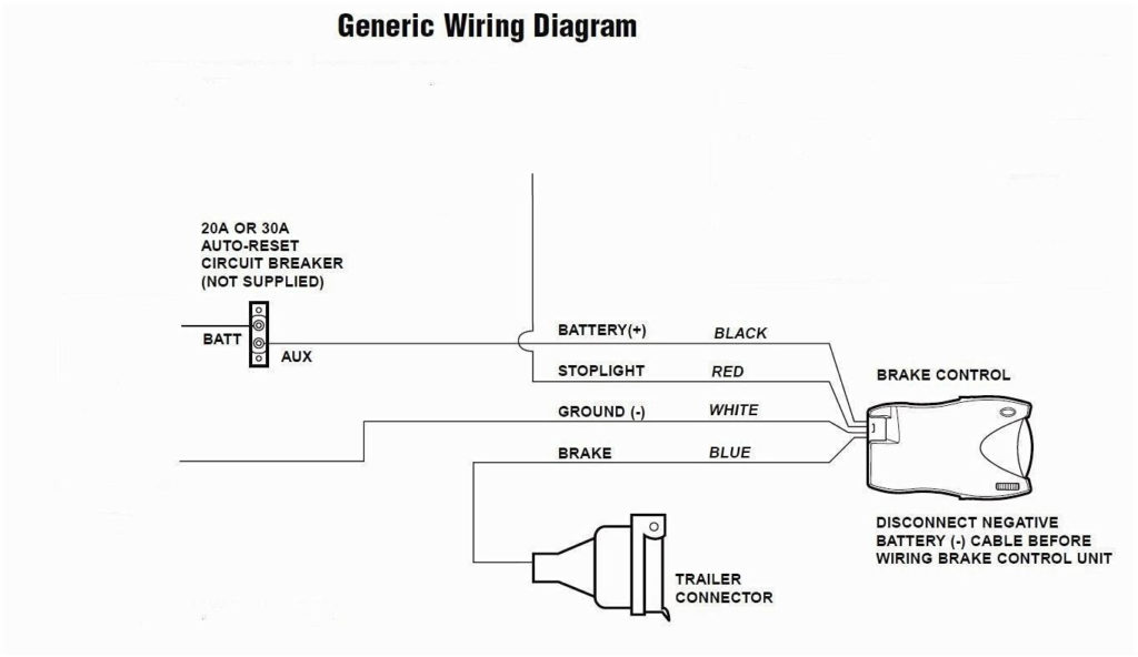 Trailer Brake Wiring Diagram In Box Database Wiring