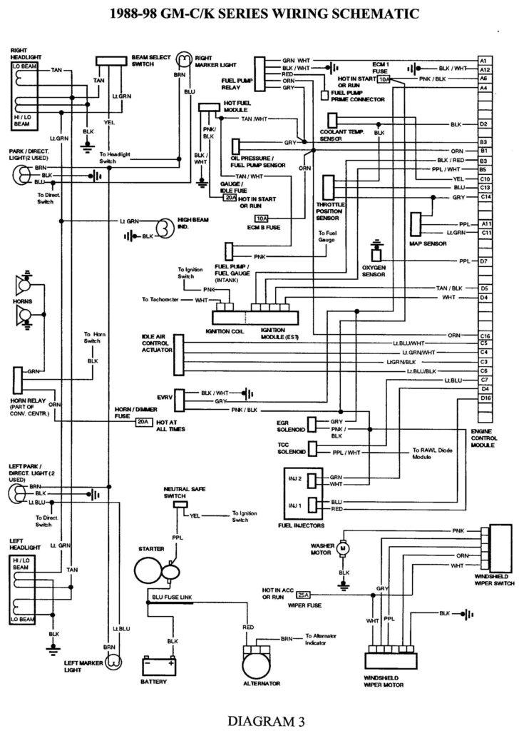 Trailer Wiring Diagram For 2005 Gmc Sierra Trailer