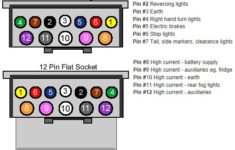 12 Pin Trailer Wiring Diagram