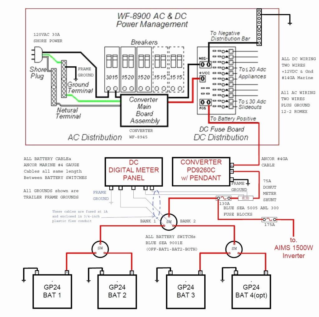Travel Trailer Wiring Schematic Free Wiring Diagram