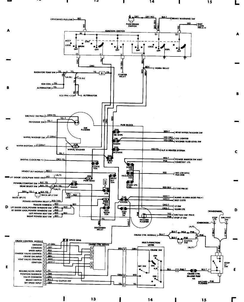 1997 Jeep Grand Cherokee Trailer Wiring Diagram