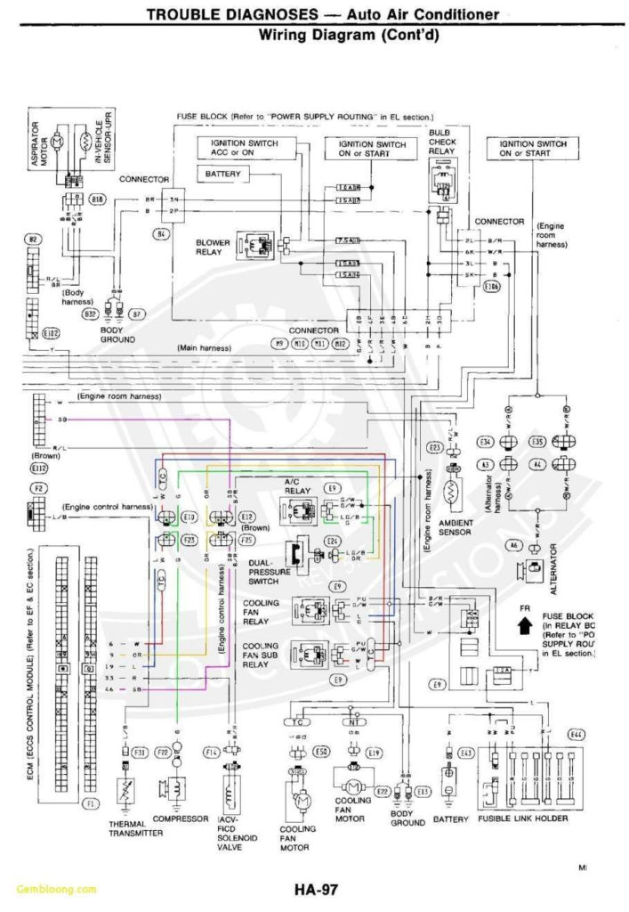1998 Ford Explorer Wiring Harness Diagram Electrical