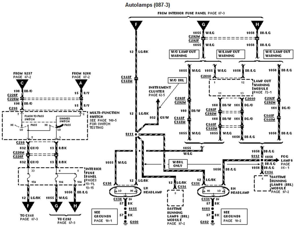 1999 Ford Explorer Wiring Diagram Pdf Free Wiring Diagram