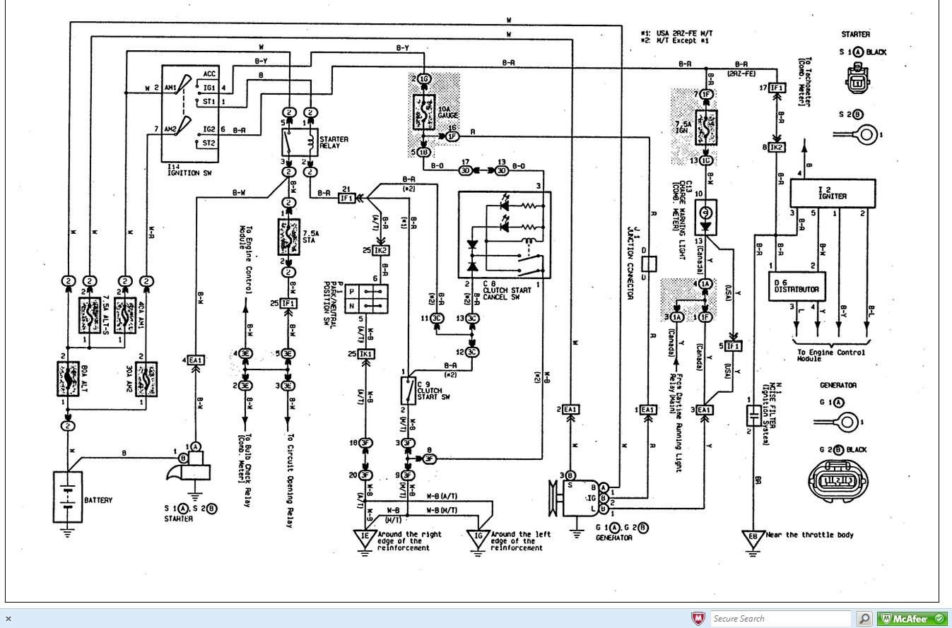 Toyota Trailer Wiring Diagram