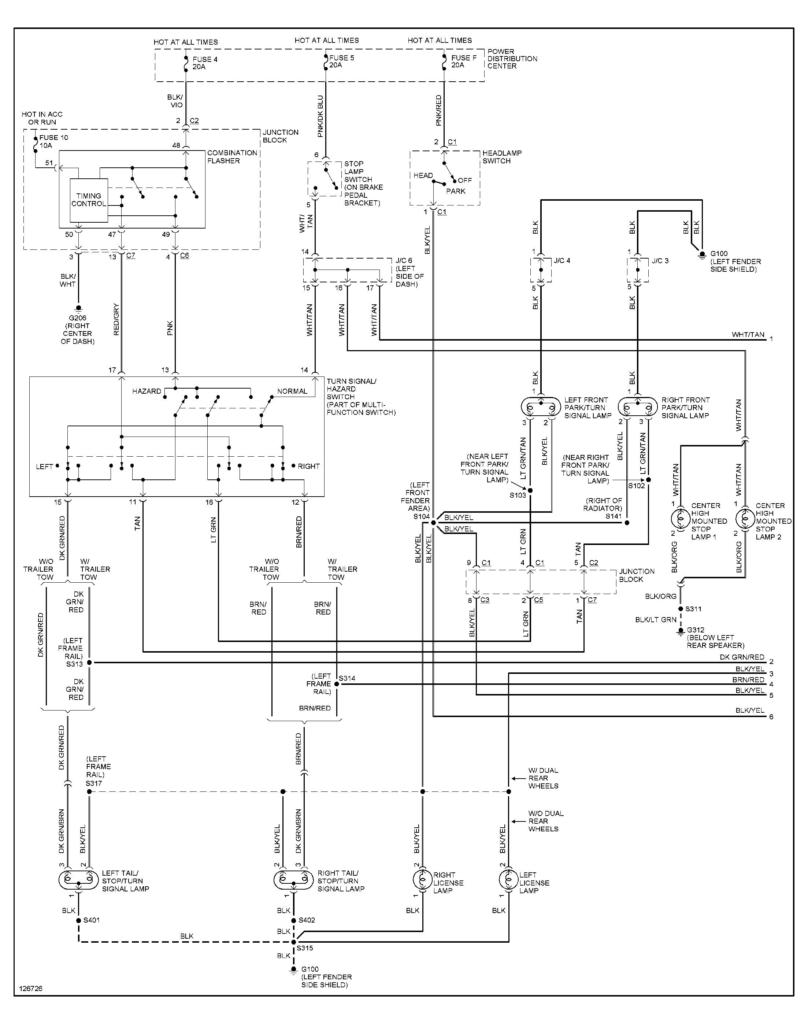 2001 Dodge Ram 1500 Trailer Wiring Diagram Trailer