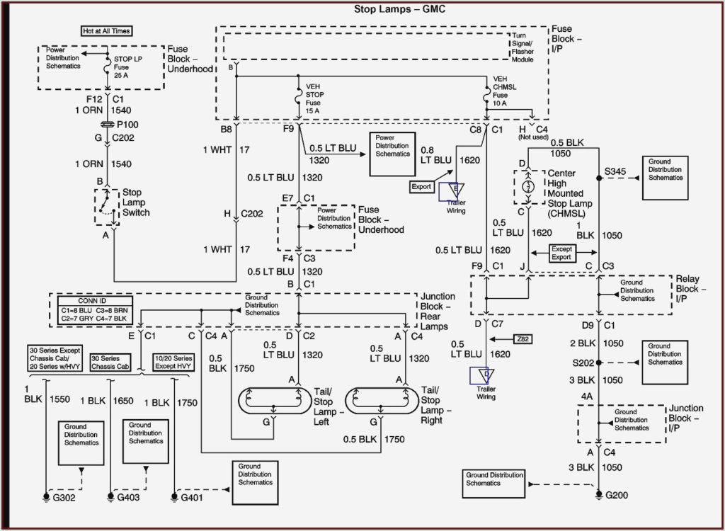 2002 Chevy Silverado Trailer Wiring Diagram Diagram