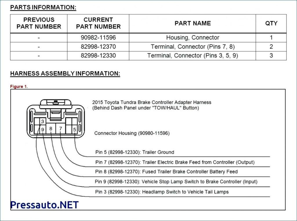 2003 Toyota Tundra Trailer Wiring Harness Diagram