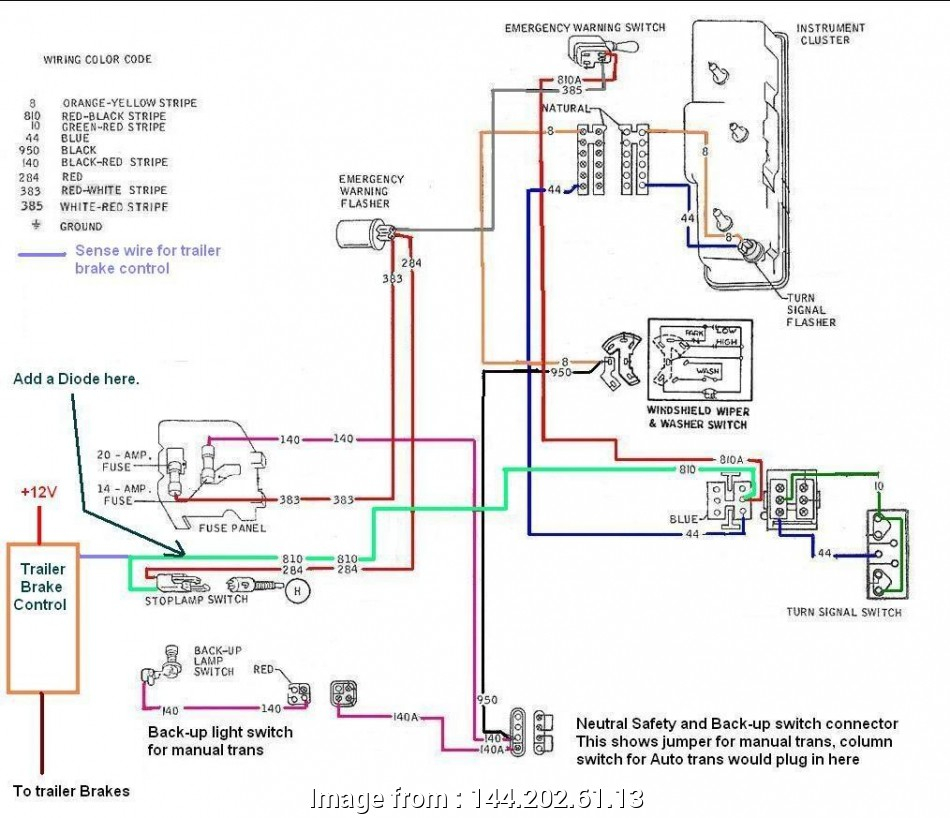 2006 Ford F250 Trailer Brake Controller Wiring Diagram