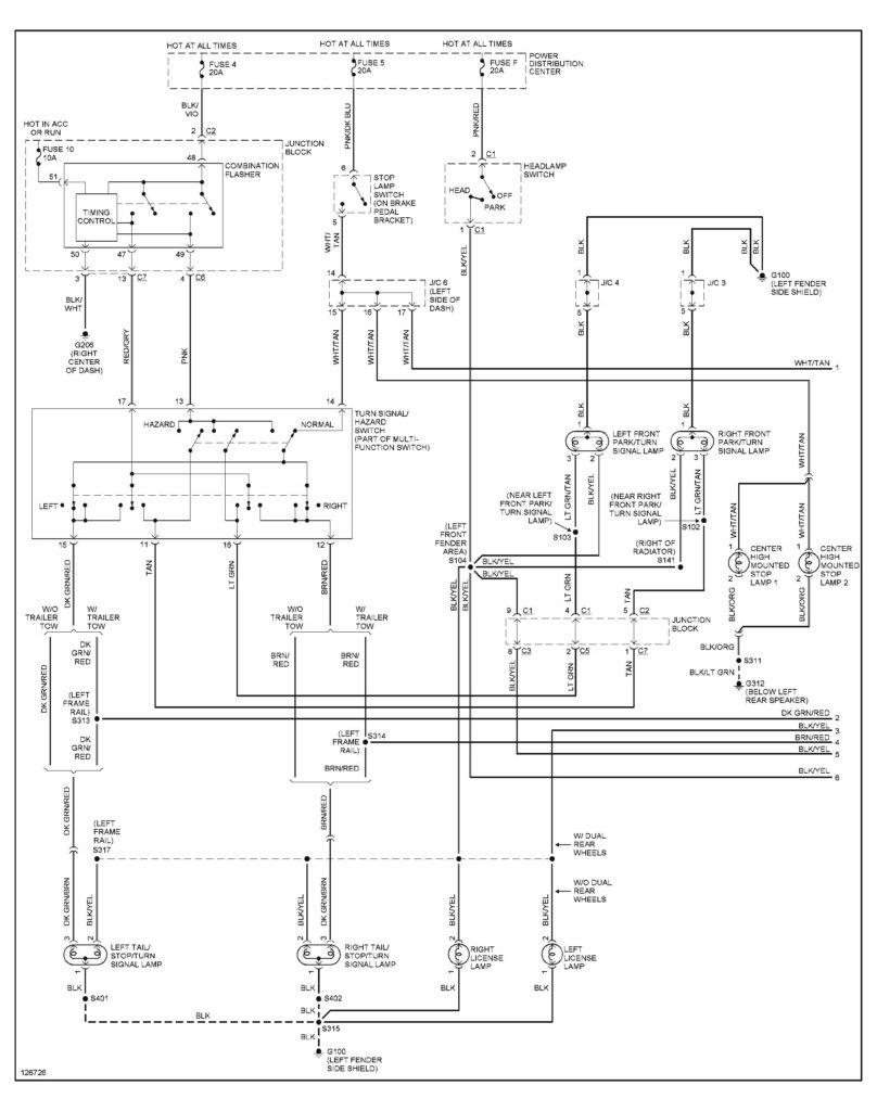 2006 Dodge Ram 2500 Trailer Plug Wiring Diagram Wiring