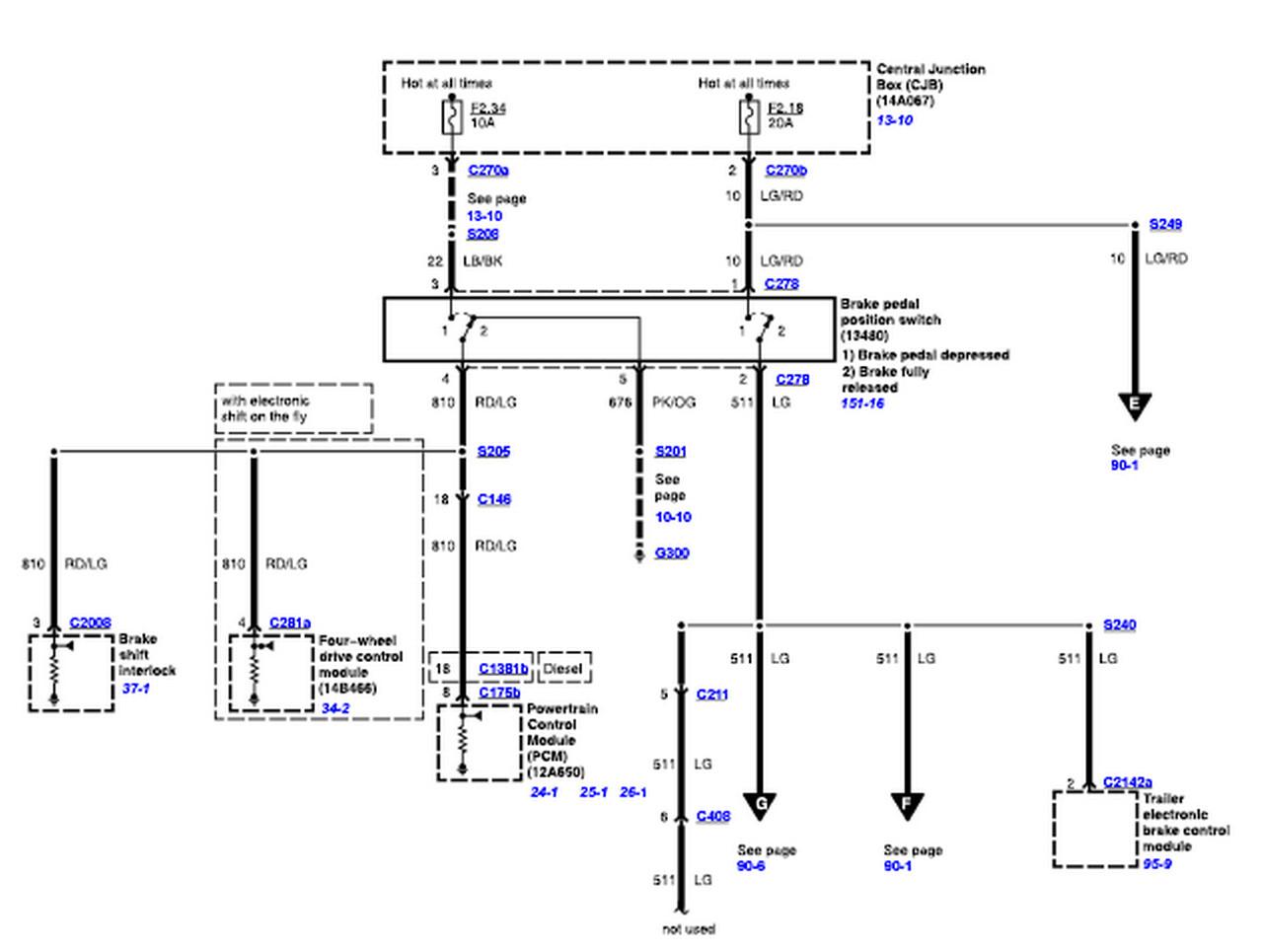 2006 Ford F350 Trailer Wiring Diagram