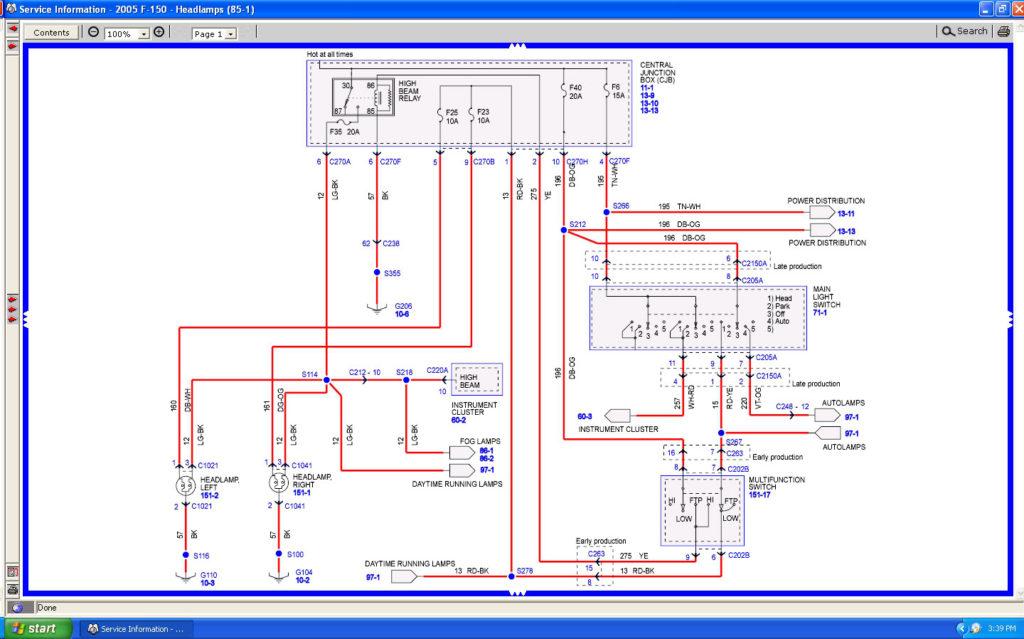 2007 Ford F150 Wiring Diagrams Wiring Diagram
