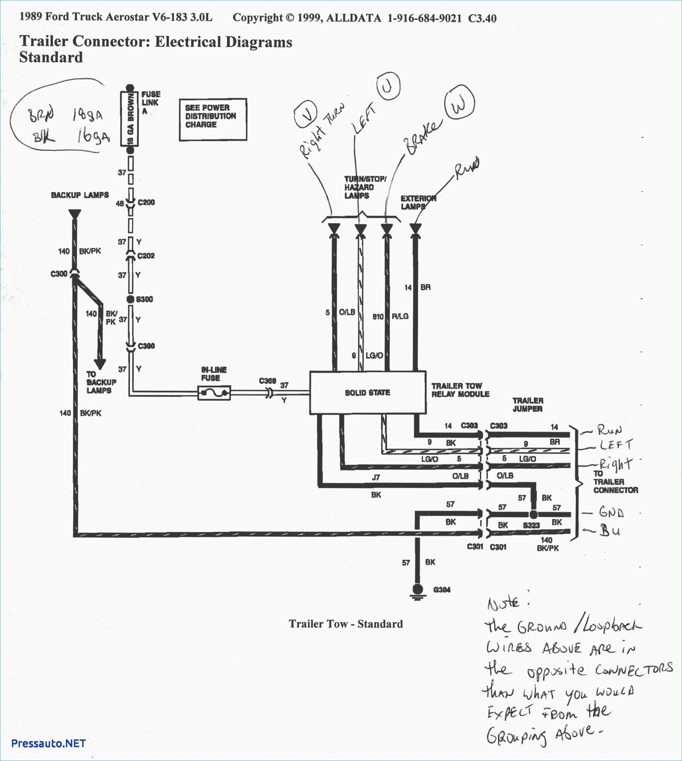2012 Ford F150 Trailer Wiring Harness Diagram