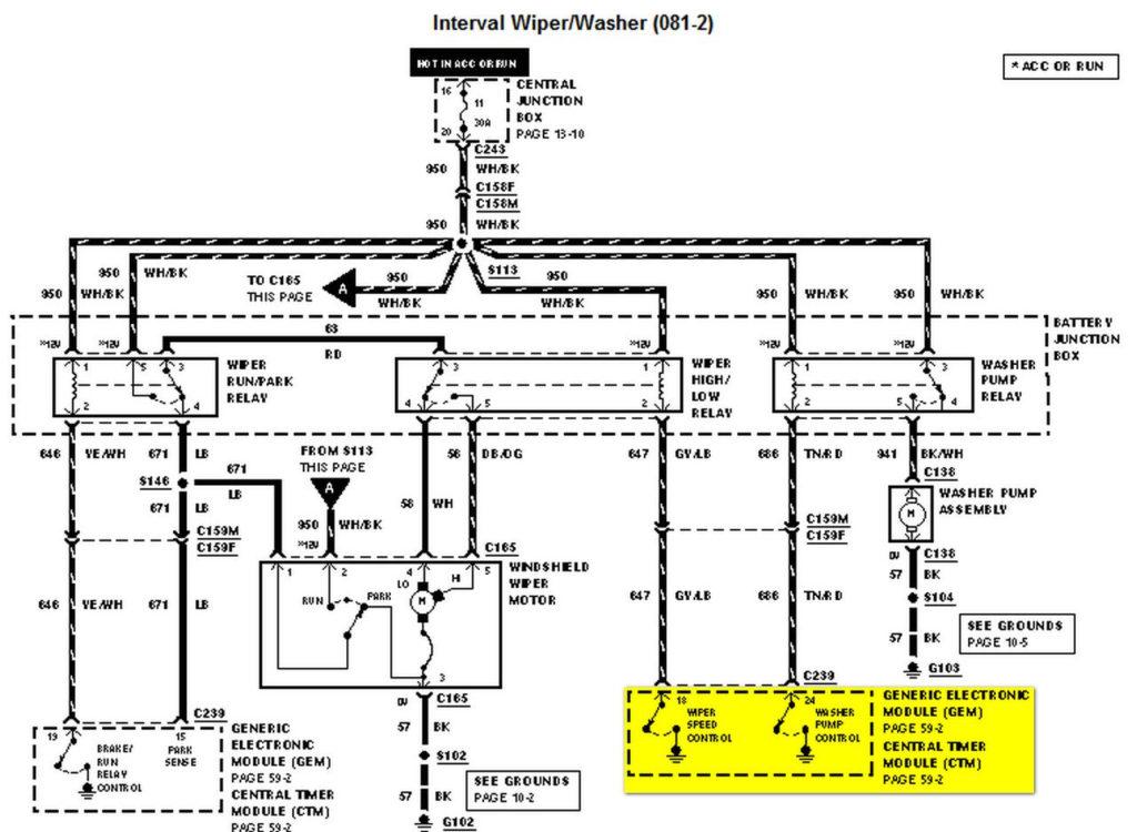 99 F150 Trailer Wiring Diagram Trailer Wiring Diagram