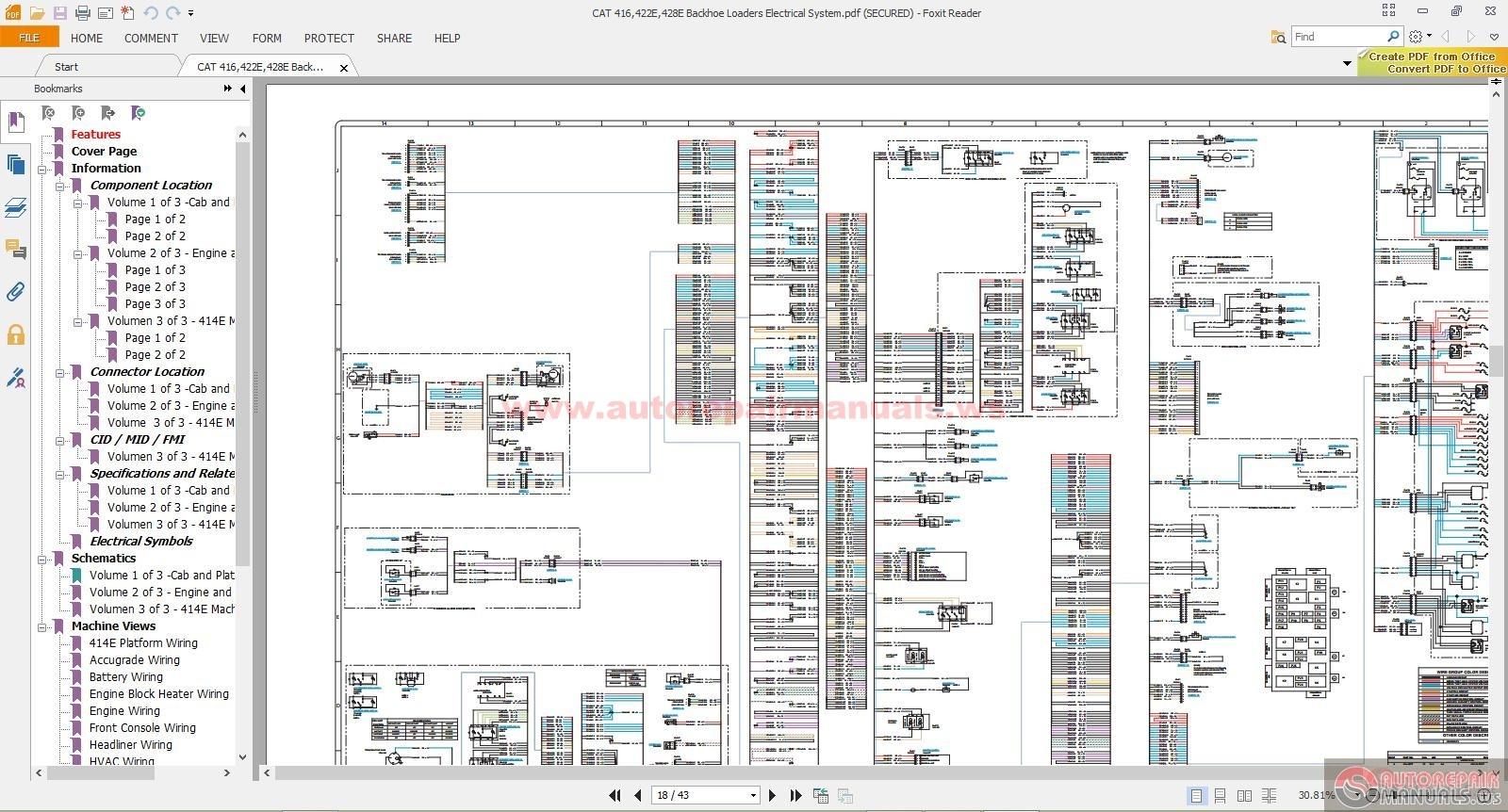 Cat It14g Wiring Diagram