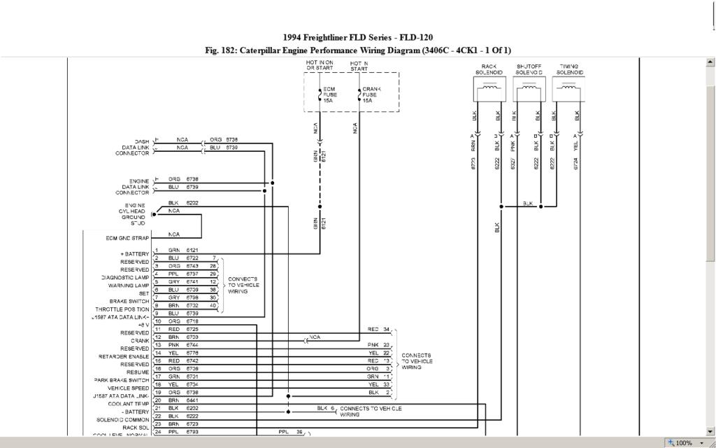 Cat 3406b Jake Brake Wiring Diagram