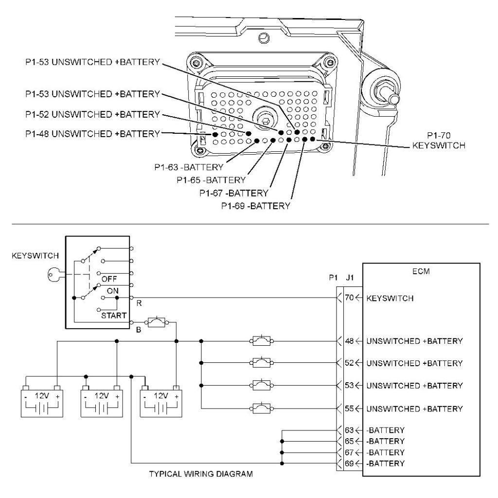 Cat 40 Pin Ecm Wiring Diagram Free Wiring Diagram