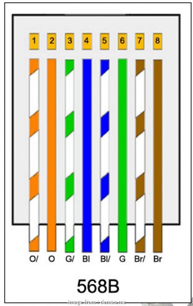 Cat 5 Wiring Diagram T568B Most T568A T568B RJ45 Cat5E