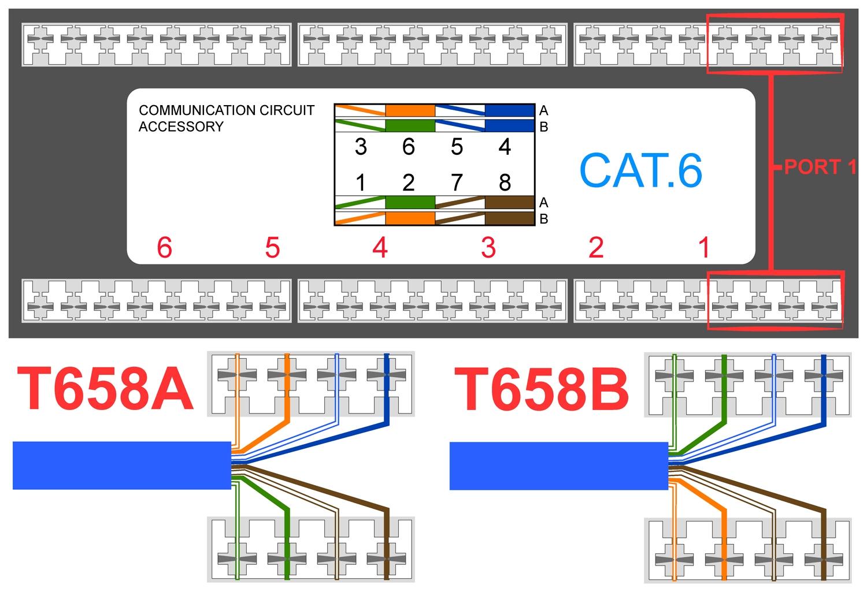 Cat 5 Wiring Diagram Jack
